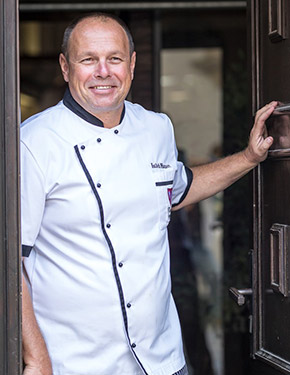 Luděk Hauser, head chef of the reastaraunt
